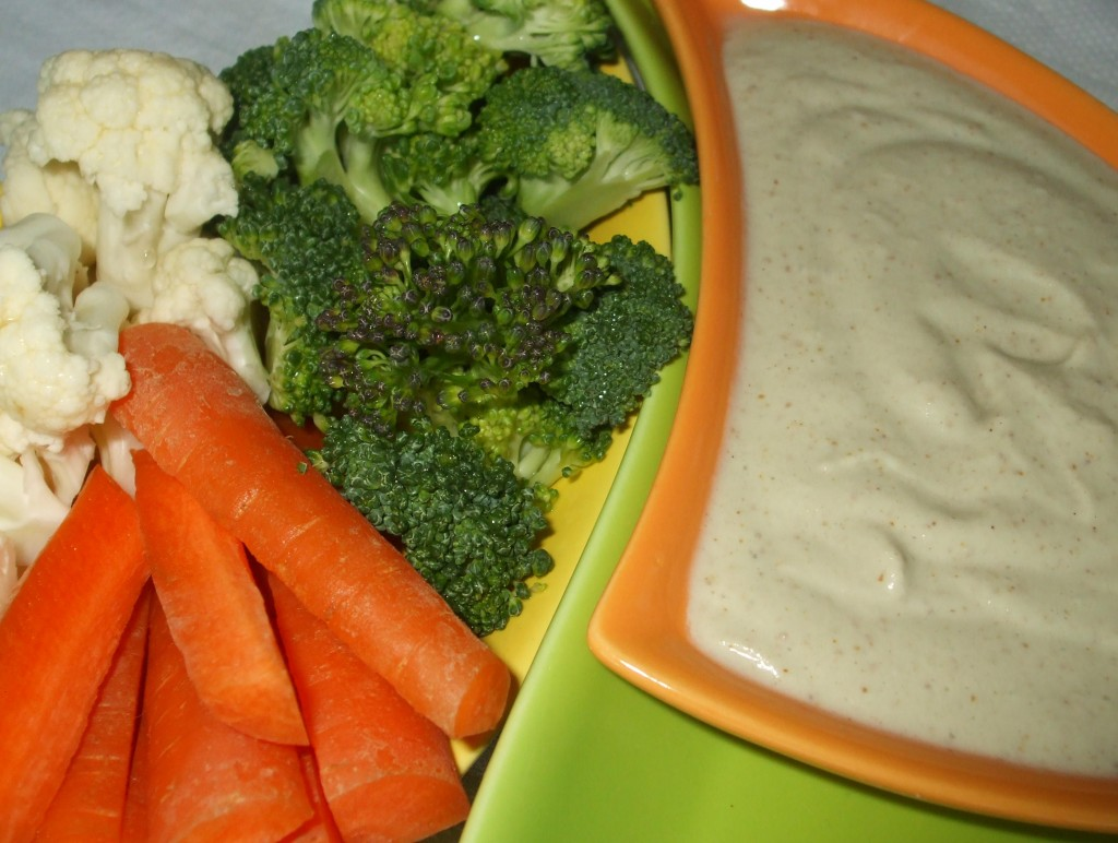 French Onion Dip w/ Veggies