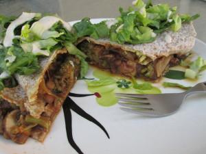 BBQ Veggie Wrap