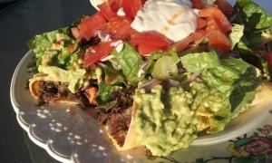 Sweet Potato, Kale and Black Bean Tacos