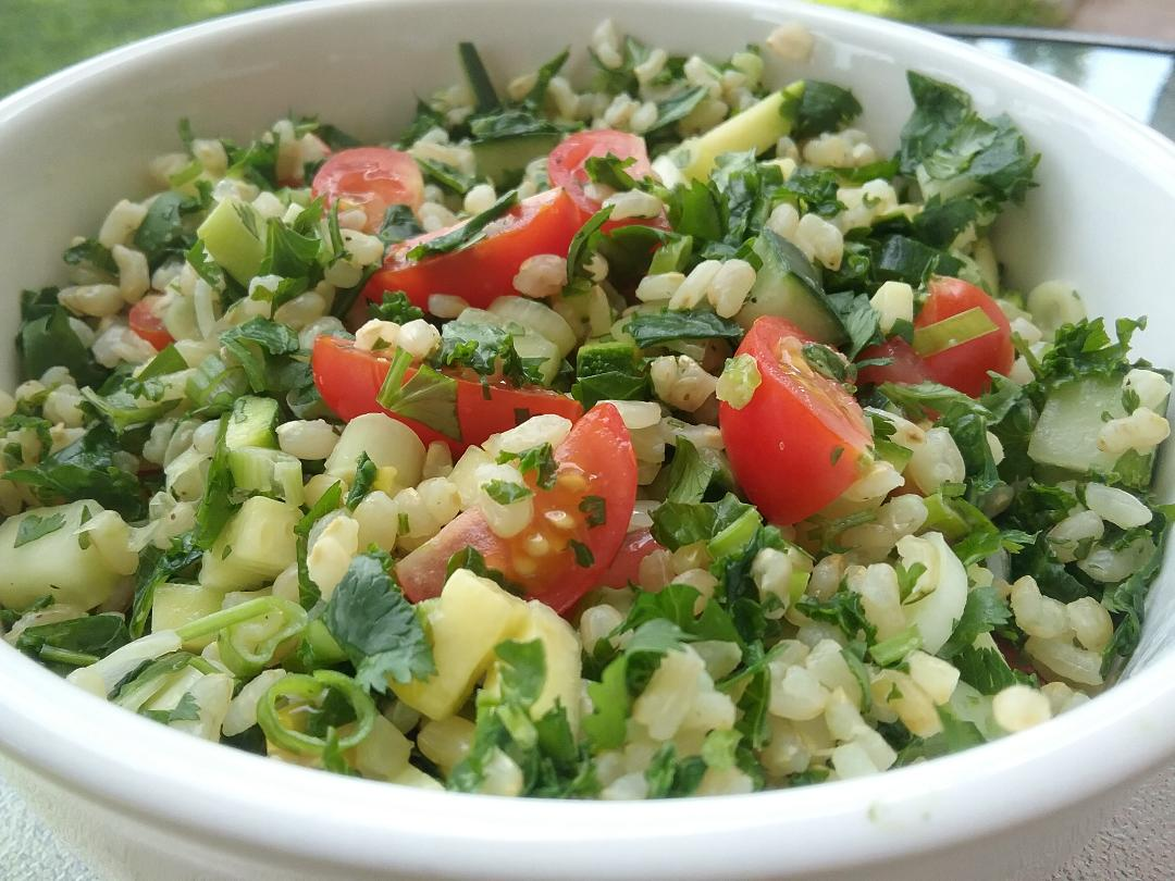 Hollywood Bowl Rice Salad w Kale