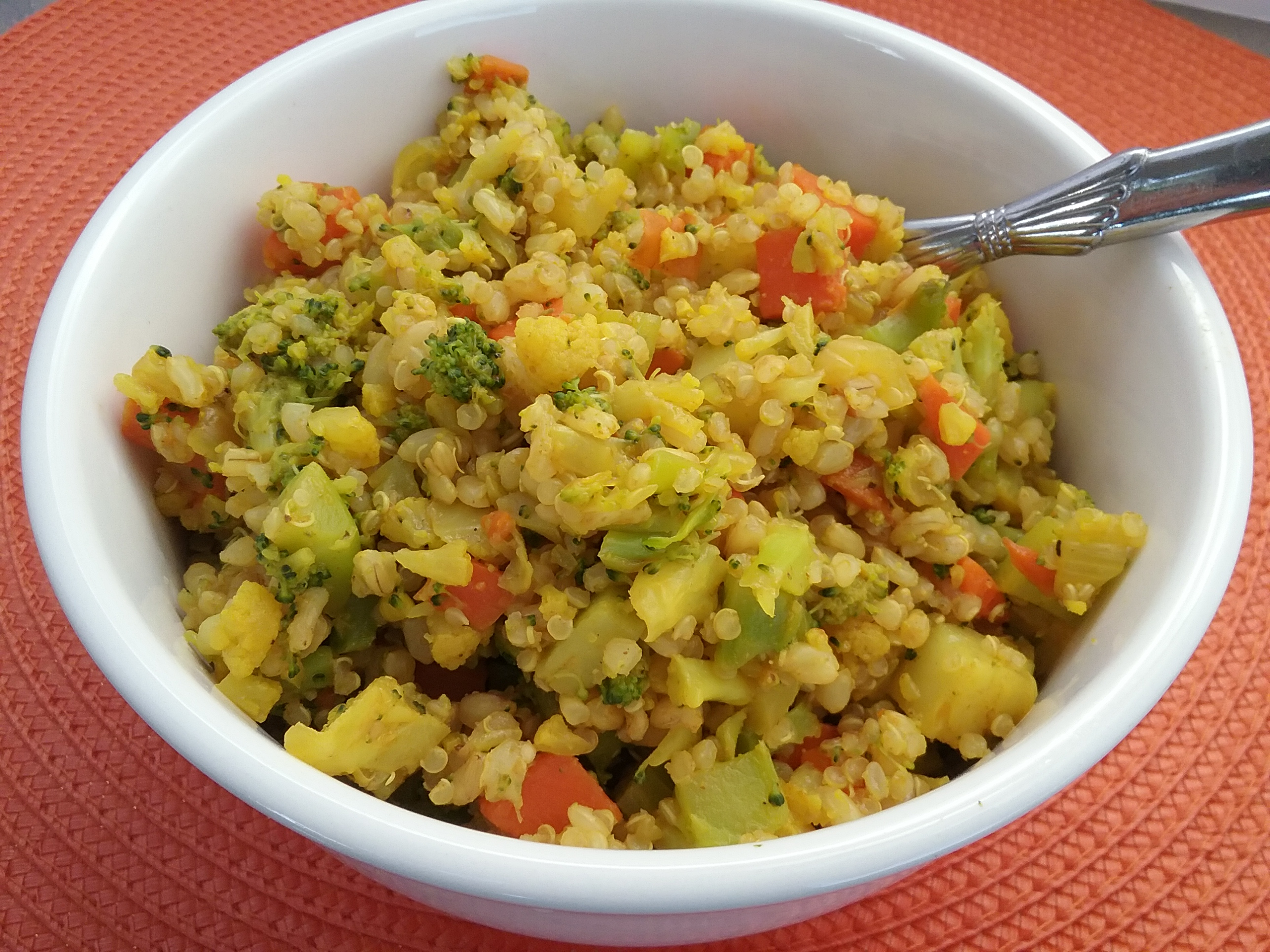 Cruciferous Rice Pilaf
